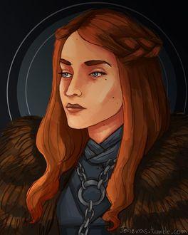 Фото Sansa Stark / Санса Старк из сериала Game Of Trones / Игра Престолов, by Jenevas