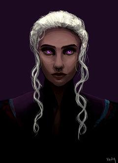 Фото Daenerys Targaryen / Дейнерис Таргариен из сериала Game Of Trones / Игра Престолов, by K-J-Verty