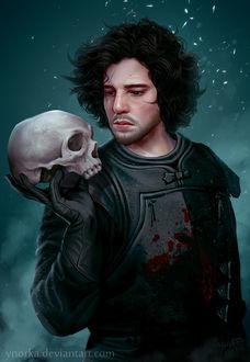 Фото Jon Snow / Джон Сноу из сериала Game Of Trones / Игра Престолов, by ynorka