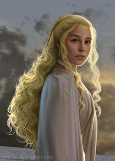 Фото Daenerys Targaryen / Дейнерис Таргариен из сериала Game Of Trones / Игра Престолов, by ynorka