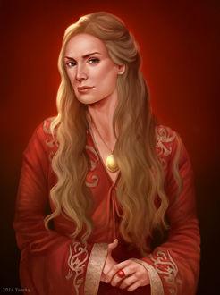 Фото Cersei Lannister / Серсея Ланнистер из сериала Game Of Trones / Игра Престолов, by ynorka