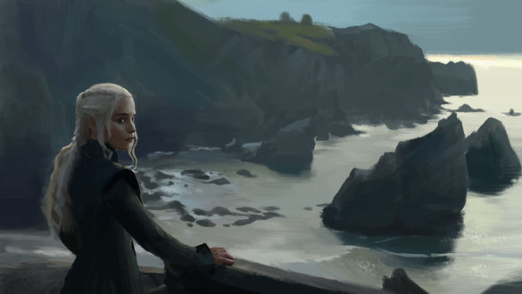 Фото Daenerys Targaryen / Дейнерис Таргариен из сериала Game Of Trones / Игра Престолов, by Junxiao Fang