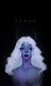 Фото Белокурая девушка-демон, by tieungan (DEMON)
