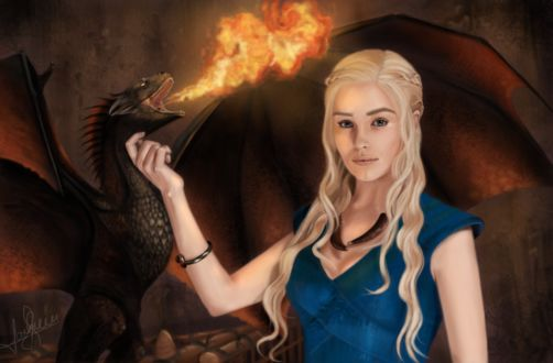 Фото Daenerys Targaryen / Дейнерис Таргариен из сериала Game Of Trones / Игра Престолов, by lara-cr