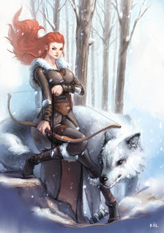 Фото Ygritte / Игритт из сериала Game Of Trones / Игра Престолов, by Kit-Ho