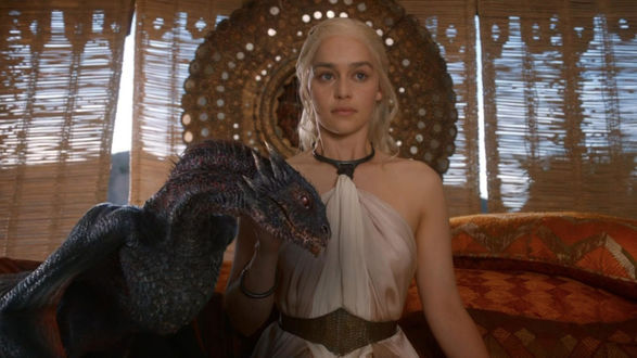 Фото Daenerys Targaryen / Дейенерис Таргариен, кадр из сериала Game Of Trones / Игра Престолов