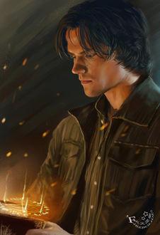 Фото Sam Winchester / Сэм Винчестер, персонаж сериала Supernatural / Сверхъестественное, byFirebolide
