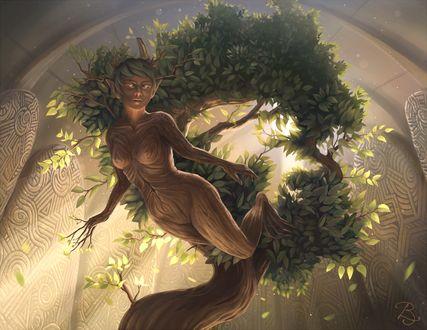 Фото Lund ~ Goddess of Nature / Лунд - Богиня природы, by Blunell