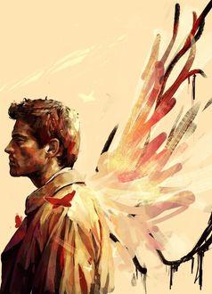 Фото Ангел Castiel / Кастиэль из сериала Supernatural / Сверхъестественное