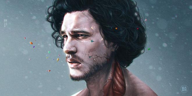 Фото Jon Snow / Джон Сноу из сериала Game of Thrones / Игра престолов