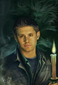 Фото Dean Winchester / Дин Винчестер из сериала Supernatural / Сверхъестественное, by firebolide