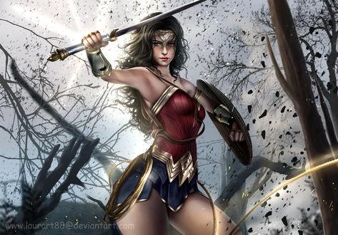 Фото Wonder Woman / Чудо-Женщина, by Laurart88