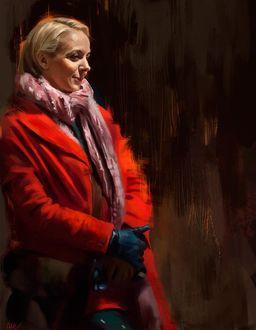 Фото Аманда Аббингтон / Amanda Abbington в роли Мэри Морстен / Mary Morstan, сериал Шерлок / Sherlock