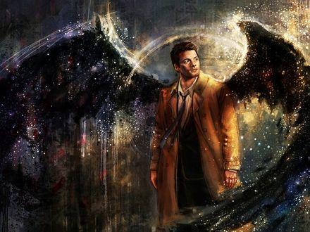 Фото Ангел Кастиэль / Castiel из сериала Supernatural / Сверхъестественное