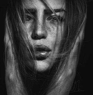 Фото Девушка со слезами в глазах, Cristina Otero Photography