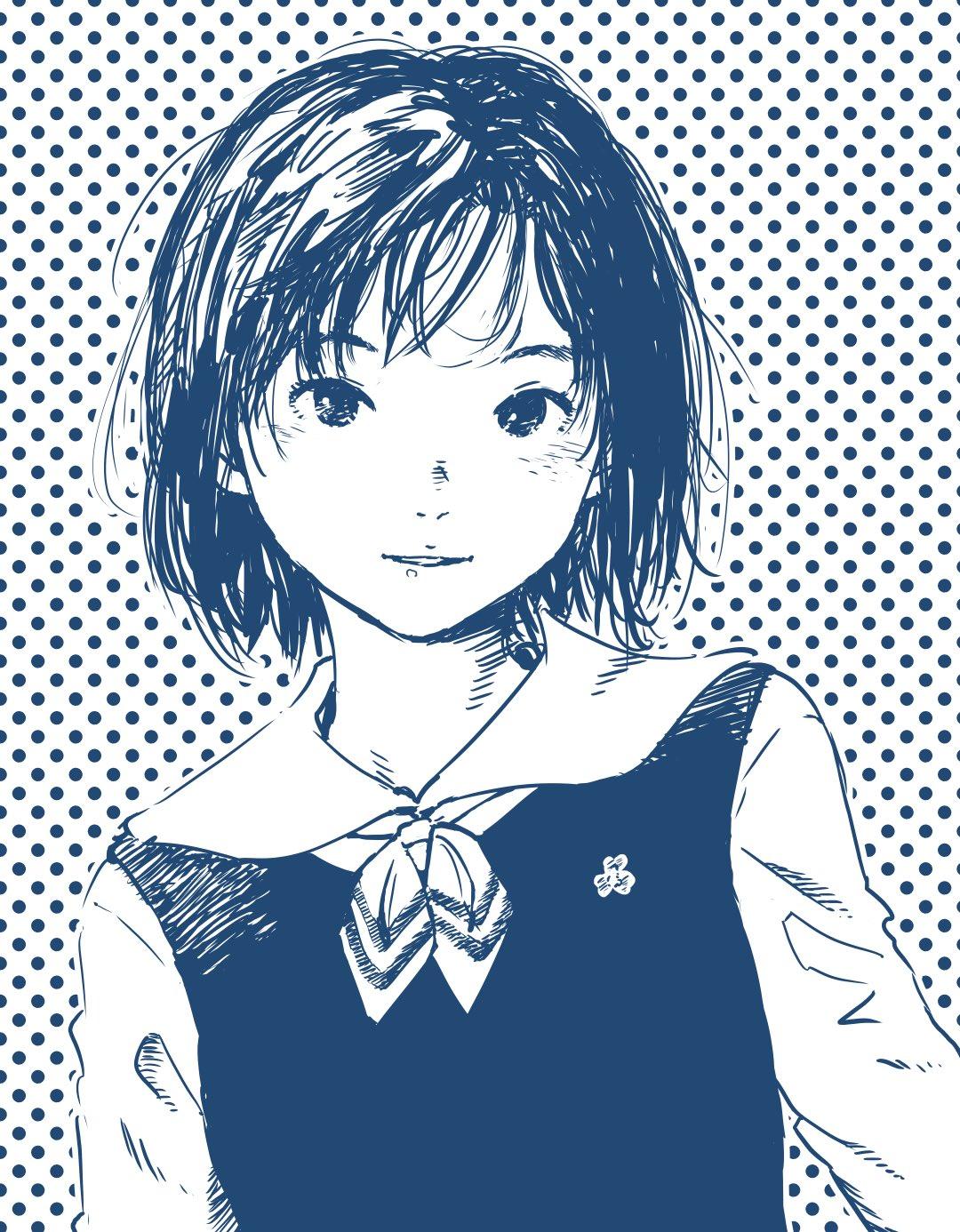Фото Девочка в школьной форме