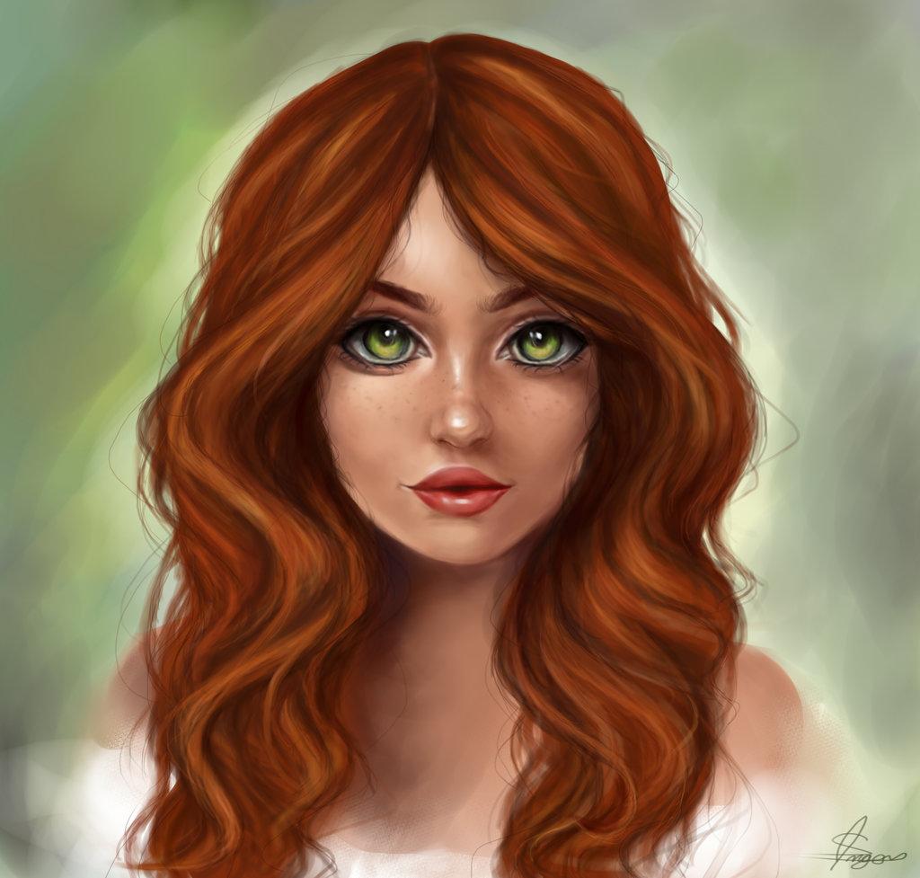 картинки мультяшки с зелеными глазами открытого источника