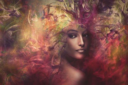 Фото Оригинальный портрет девушки, by coka