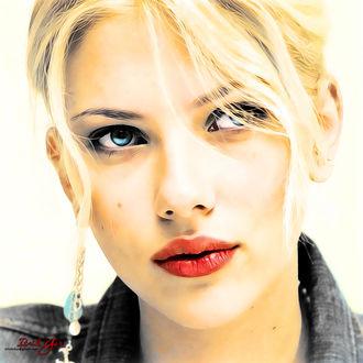 Фото Американская актриса Scarlett Johansson / Скарлетт Йоханссон, by itzikgur