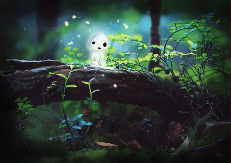 Фото Лесной дух из аниме Принцесса Мононоке / Princess Mononoke, by Filika