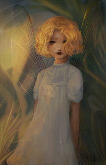Фото Фея с золотыми крыльями, by Kiyoshuki