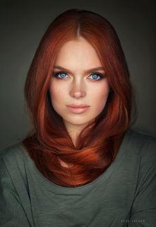 Фото Модель Катя с рыжими волосами, фотограф Sean Archer