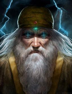 Фото Старик с длинной бородой, by tadas0