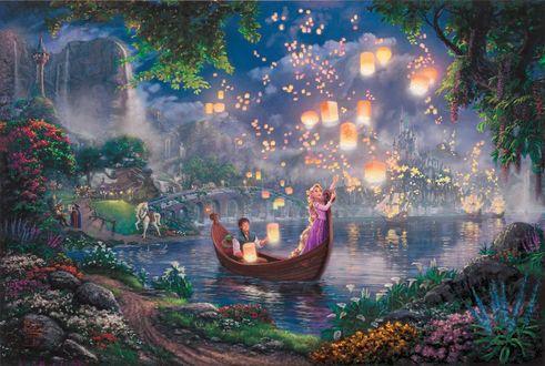 Фото Rapunzel / Рапунцель из мультфильма Tangled / Рапунцель: Запутанная история