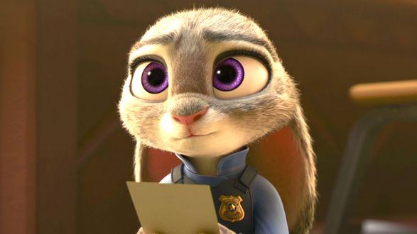 Фото Judy Hopps / Джуди Хоппс из мультфильма Zootopia / Зверополис