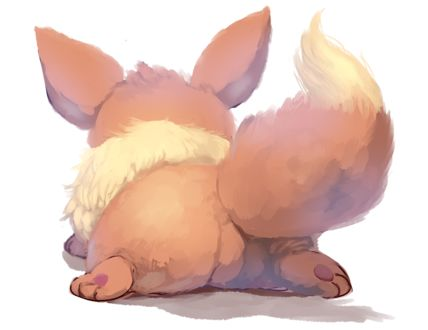 Фото Eevee / Иви из аниме Покемон / Pokemon