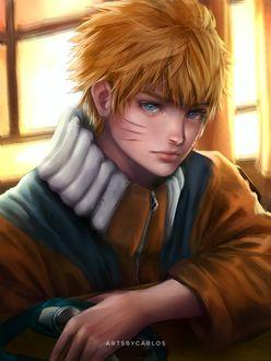 Фото Наруто Узумаки / Naruto Uzumaki из аниме Наруто / Naruto, by artsbycarlos