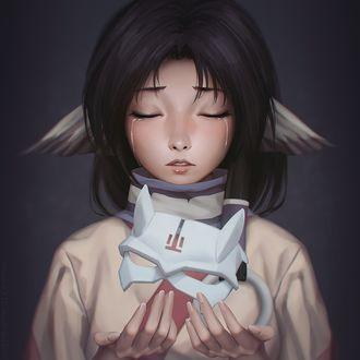 Фото Эруруу / Eruruu из аниме Прославленный / Utawarerumono, by miura-n315