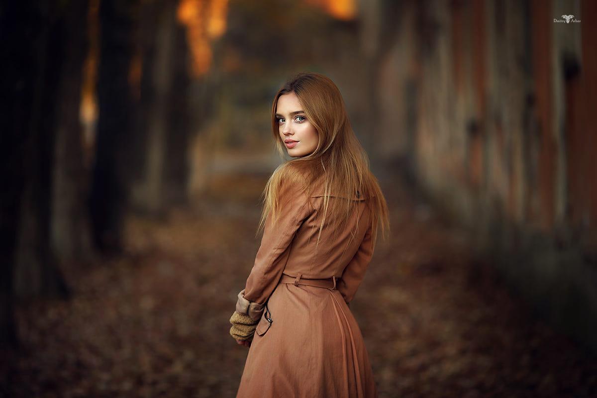 Фото Модель Катерина стоит на дороге, фотограф Dmitry Arhar