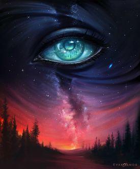 Фото Фантастический глаз в космосе, by EvaKosmos