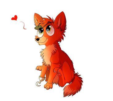 Фото Веселый пес, похожий на пирата Сильвера, дарит нам свою любовь