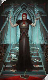 Фото Эльф в черных одеяниях / арт на игру Dragon Age, by katorius