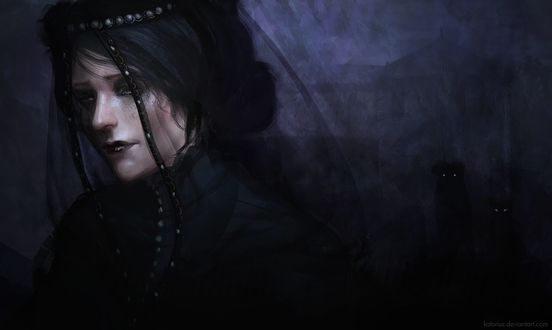 Фото Iris von Everec / Ирис фон Эверек - персонаж игры The Witcher 3: Wild Hunt / Ведьмак 3: Дикая Охота, by katorius