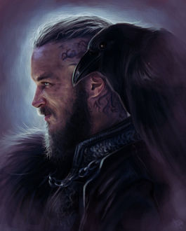 Фото Ragnar Lodbrok / Рагнар Лодброк из сериала Vikings / Викинги, by mappeli