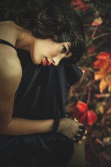 Фото Осенняя грусть девушки, фотограф Cristina Venedict