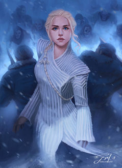 Фото Daenerys Targaryen / Дейнерис Таргариен из сериала Game Of Trones / Игра Престолов, by gizellekaren