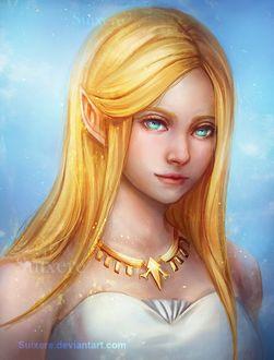 Фото Princess Zelda / Принцесса Зельда из игры Zelda no Densetsu / Skyward Sword, by Suixere