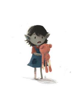 Фото Маленькая Marceline / Марселин из мультсериала Adventure Time / Время Приключений, by CrayonBot