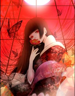 Фото Enma Ai / Энма Ай из аниме Адская девочка / Hell Girl / Jigoku Shoujo