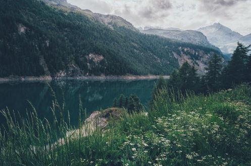 Фото Marmorera, Switzerland / Марморера, Швейцария, фотограф Lutz Heidbrink