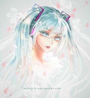 Фото Vocaloid Miku Hatsune / Вокалоид Мику Хатсуне, by TheCecile