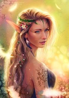 Фото Лесная девушка-эльфийка, by Emeraldus