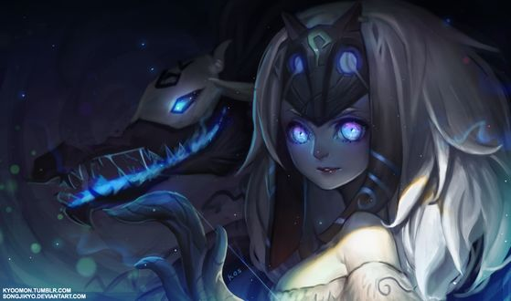 Фото Вечные охотники Киндред / Kindred the Eternal Hunters из игры Лига Легенд / League of Legends / LOL, by SongJiKyo