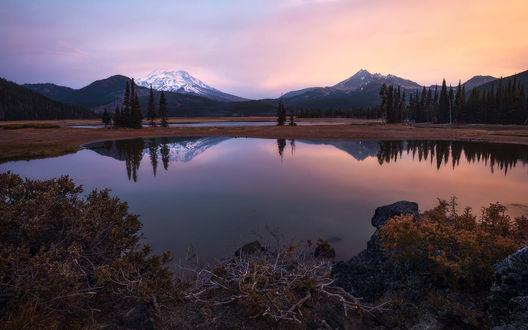 Фото Восход на озере, фотограф Daniel F
