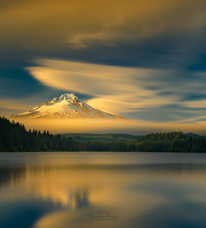 Фото Гора Гуд у озера Trillium / Триллиум, фотограф Frank Delargy