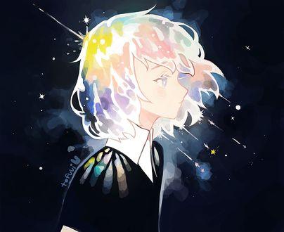 Фото Алмаз / Diamond из аниме Страна самоцветов / Houseki no Kuni, by tofuvi